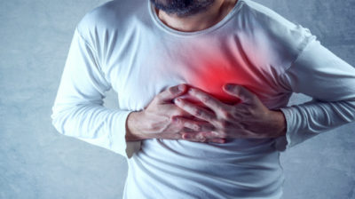 Illustration of 22-year-old Man With Left Chest Pain Radiating To His Back?