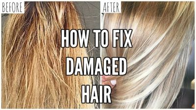 Illustration of How To Deal With Damaged Hair To Be Healthy Again?