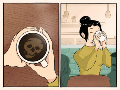 Illustration of How To Overcome Excessive Worries About Death?