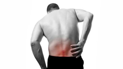 Illustration of Pain In The Right Spine That Radiates To The Solar Plexus?