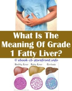 Illustration of What Is Meant By Liver Grade 1?
