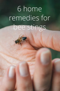 Illustration of First Aid For Feet Stung By Bees?
