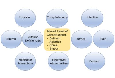 Illustration of Causes Of Loss Of Consciousness After A Fall In Hypertensive Patients?