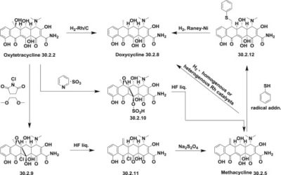 Illustration of Does The Doxycycline Drug Cause Chapter Black?