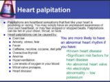 Causes Of Palpitations?
