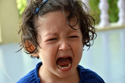 Illustration of Repeated Ulcers Develop Around The Head In Toddlers?