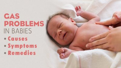 Illustration of Causes And Ways To Overcome Flatulence In Babies One Month?