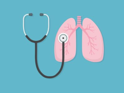 Illustration of A Recurring Cough That Doesn't Heal, Lung Cancer?