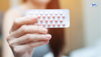 Illustration of Menstruation 2 Times A Month After Taking Birth Control Pills?