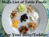 Proper Food For 10-month Babies Who Experience Pain In The Eardrum?