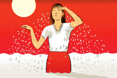 Illustration of Associated Excessive Sweating With Strenuous Activity?