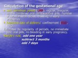 How To Calculate The Gestational Age During Irregular Menstrual Cycles?