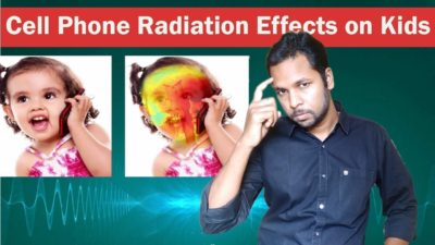 Illustration of Cellphone Radiation Effects For Babies?