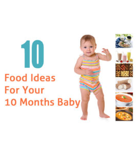 Illustration of What Kind Of Food Is Suitable For Babies Aged 10 Months?