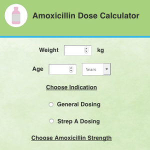Illustration of How To Calculate The Antibiotic Dose That Is Entered Through An IV?