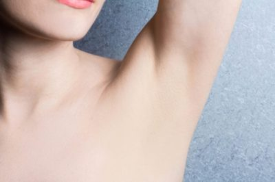 Illustration of The Swelling Under The Folds Of The Arms Doesn't Go Away?
