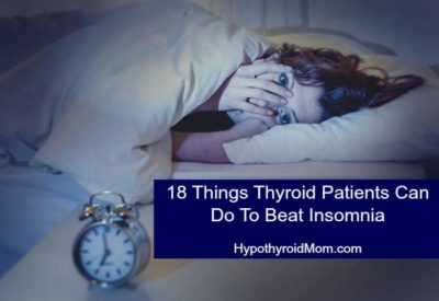 Illustration of Difficulty Sleeping When Suffering From Hyperthyroidism?