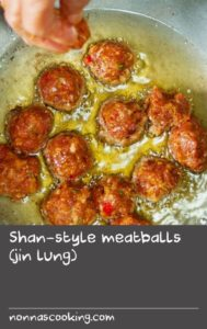 Illustration of Eat Meatballs When Suffering From Lung Spots?