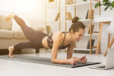 Illustration of Exercise On A Diet Program That Can Be Done Indoors?