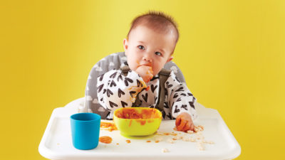 Illustration of Babies CHAPTER 2 Days When Giving Solids?