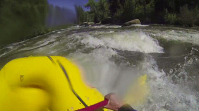 Illustration of Prolonged Upper Back Pain After Rafting?