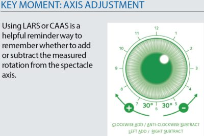 Illustration of Selection Of Soft Lenses Suitable For Minus Eyes Is Only One Side?