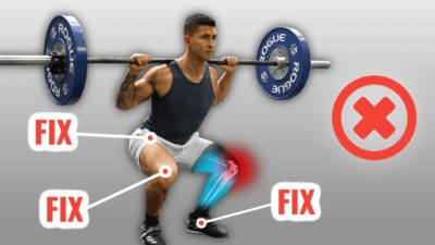 Illustration of Pain When Squatting After A Thigh Injury?