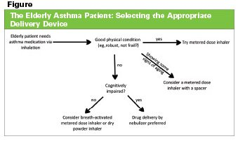 Illustration of Selection Of Asthma Treatment For The Elderly?