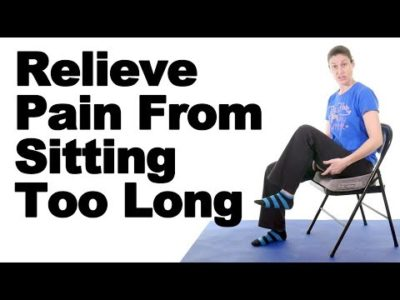 Illustration of Does Sitting Too Long Cause Spinal Pain Until The Legs Feel Heavy?
