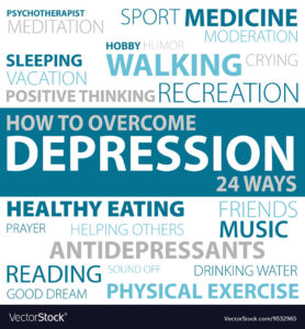 Illustration of How To Overcome Depression?