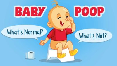Illustration of The Frequency Of Bowel Movements For Infants Aged 5 Months Is Liquid Without Mucus Or Blood And The Babies Are Not Breastfeeding?