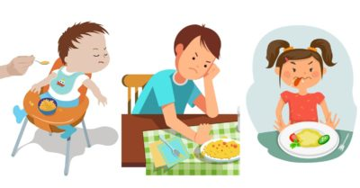 Illustration of The Child's Appetite Decreases After Receiving IV Treatment?