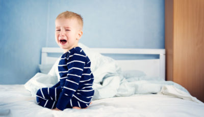 Illustration of An 18 Month Old Child Coughs With Vomiting Every Time He Sleeps?