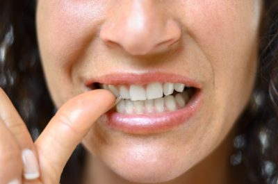 Illustration of Causes Toothache And Gums When Eating And Unconsciously Biting The Tongue?