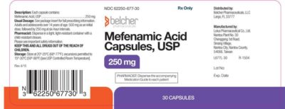 Illustration of Is It Safe For Me To Take Mefenamic Acid At The Same Time As Benzodiazepines?