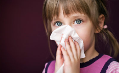 Illustration of How To Deal With GTM Children When Coughs And Colds?