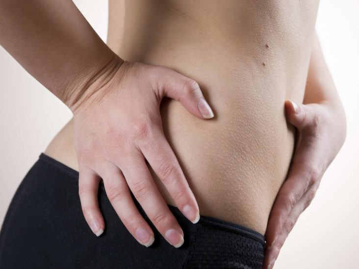 Left Abdominal Pain Radiating To The Right, Hot Throat, Bloating, And Nausea?