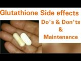Side Effects Of Using Glutathione Whitening Supplements?