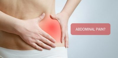 Illustration of Left Abdominal Pain Accompanied By Pain When Pressed?