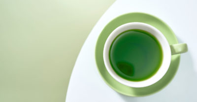 Illustration of Time To Consume Green Tea For Weight Loss Programs?