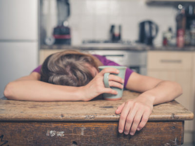 Illustration of Drowsiness In The Morning Even When Sleeping Enough?
