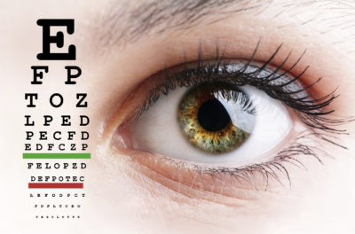 Illustration of The Right Eye View Is Blurred In People With Minus Eyes?