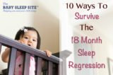 Solutions To Overcome The Irregular Sleep Time Of 7 Months Baby?