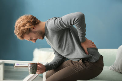 Illustration of Lower Left Back Pain And Pain When Urinating?