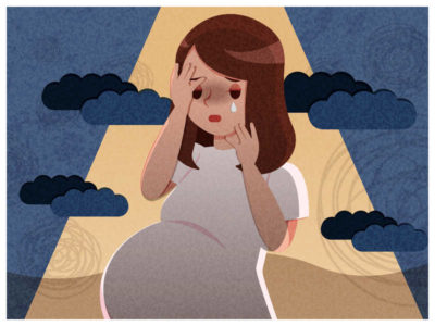 Illustration of Fear Of Contracting A Disease During Pregnancy?