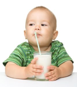 Illustration of Can 2 Year Olds Drink Soy Milk Continuously?