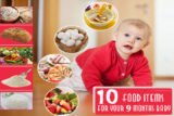 Provide Solid Food (rice) To Babies Aged 9 Months?