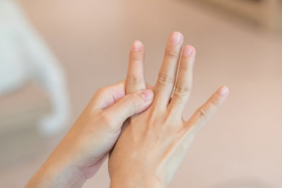 Illustration of Tingling Hands After A Sprained Injury?