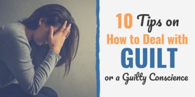 Illustration of Solution To Overcome Feelings Of Guilt Until You Lose Your Mind?