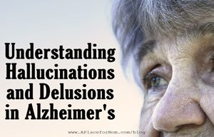 Illustration of Hallucinations Accompanied By Memories That Are Not Real. Dementia?